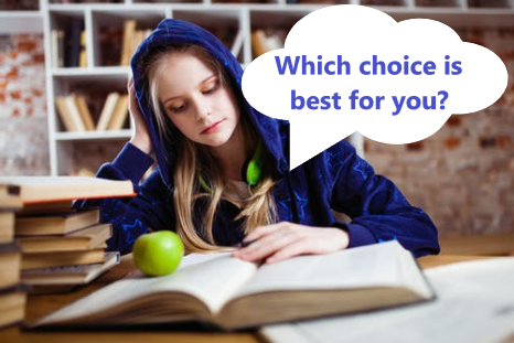 Which choice is best for you?