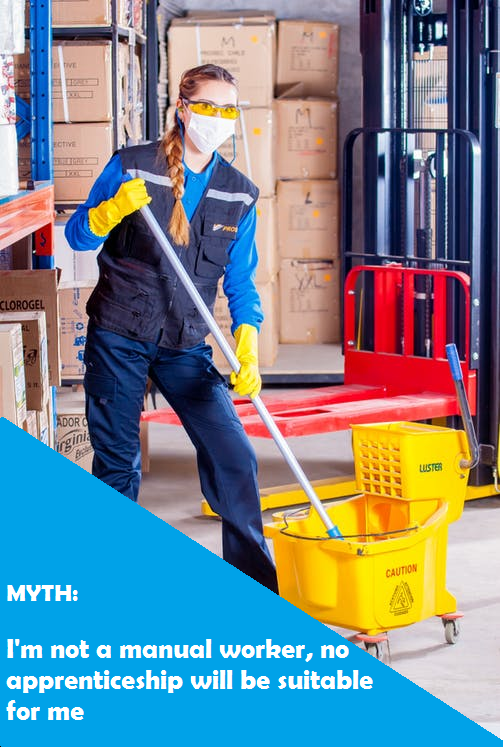 Another apprenticeship myth...