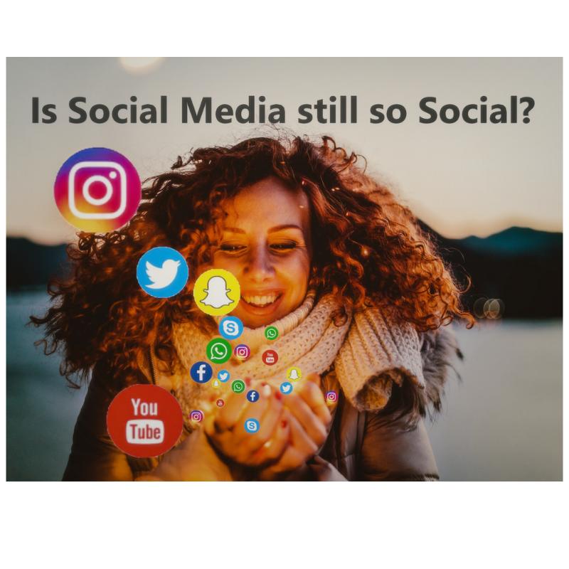 Is social media still so social?